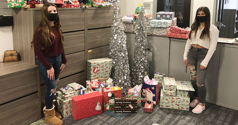 Students with gifts