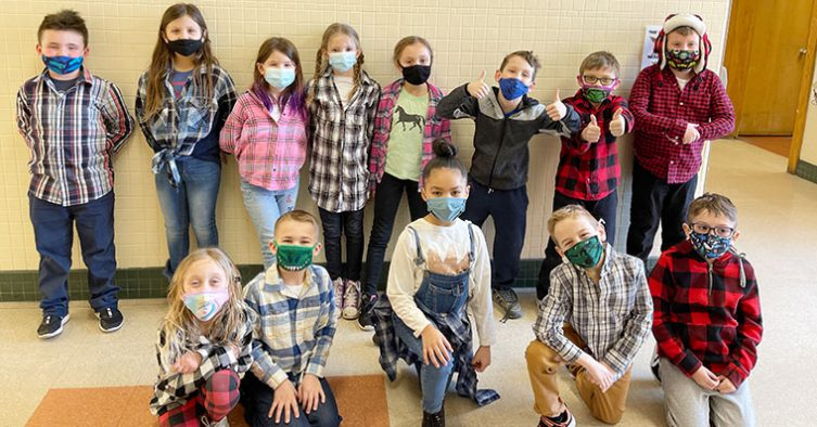 Students dress up for Timber Day
