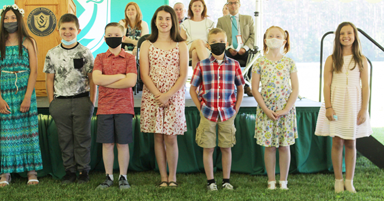 Grade 4 Moving Up Day