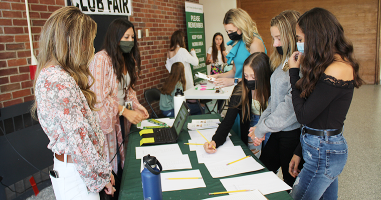 Students learn about activities